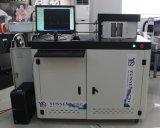 Máquina de la curva de la carta de canal de las cartas de la señalización para la esponja de las tiras de las bobinas del aluminio