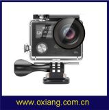 Mini câmera impermeável 4k da ação do registrador dos esportes