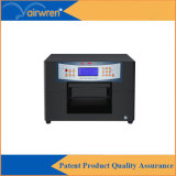 A4 de UVPrinter van het Golf van de Printer UV Flatbed voor het Geval van de Telefoon, Ceramisch Leer,