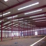 Almacén Pre-Dirigido de la estructura de acero del palmo grande con diseño moderno