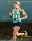 Veste reflexiva do esporte elástico da série para segurança Running