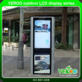 Im Freien wasserdichter Touch Screen, der Bildschirmanzeige LCD-Screnn bekanntmacht