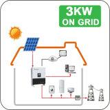 Sonnensystem-Rasterfeld des Haus-3kw mit Überwachungsanlage