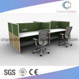 Stazione di lavoro moderna dell'ufficio della melammina della mobilia del cartone per scatole