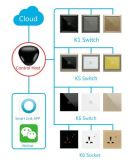 Gateway teledirigido de la automatización casera de Zigbee del sistema de la solución elegante del kit
