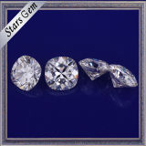 De hoogste Kwaliteit poetste goed de Witte Halfedelstenen van Moissanite van de Kleur E/F voor Gouden Juwelen op