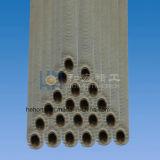 Flosse-Gefäß-Serien-Kondensator-Gefäße mit gerippter, Aluminiumkupferlegierung/Edelstahl/Kohlenstoffstahl-/Titankern-Gefäß, Aluminium-Flosse