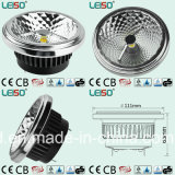 95ra PF>0.95 Sdcm<5 Dimmable 12V Wechselstrom-Umbau 15W LED AR111 (LS-S618)