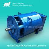 100kw 50Hz 3 단계 4 철사 400/230V 차량 무브러시 발전기 발전기