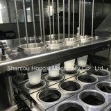 Автоматические завалка чашки и машина запечатывания креном пленки