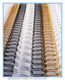 Lazo doble de sujeción de cables, para encuadernación de anillas, alambre peine Producto
