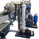 Пластмасса дробя и Pelletizing рециркулирующ штрангпресс с регулятором PLC