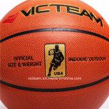 Echte PU-lederne Basketball-Kugel-amtliche Größe 7