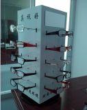 Countertop oder Fußboden, die Roating AcrylSunglass Bildschirmanzeige stehen