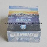 Los elementos naturales del papel de balanceo del cigarrillo del papel de balanceo del 100% gigantes adelgazan