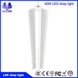 Iluminação clara linear resistente à corrosão da garagem do diodo emissor de luz de 40W 4FT