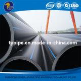 Tubulação da drenagem do plástico de polietileno do alto densidade do padrão de ISO