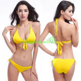 Heißes Mädchen klassischer Triangel Bikini