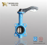Aluminiumoblate-Drosselventil der handPn16