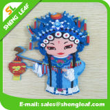 Big Rubber People Fridge Magnet Beautifull 13 * 8.5 * 1cm