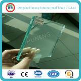 vidrio de flotador del claro de 3m m 4m m 5m m para los edificios