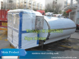 5000LTR Refrigerador de leche con 2nos 6HP Compresor de refrigeración