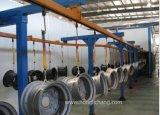Equipamento automático de revestimento para pulverização em pó para peças de automóveis