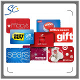 Promocional de alta calidad PVC Business Gift Voucher Card