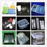 Het plastic ThermoVacuüm die van de Doos van de Lunch van de Container van het Voedsel van de Blaar Makend Machine vormen zich