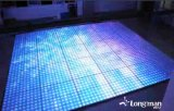 100pixel LEDのビデオスタジオのディスコのダンス・フロアの背景