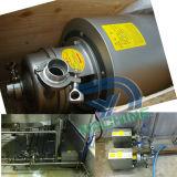 Pompe centrifuge de turbine semi-ouverte d'acier inoxydable
