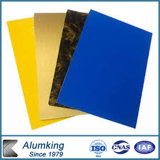 Viarous Farben-Spiegel-zusammengesetztes Aluminiumpanel verwendet in der Building& Dekoration