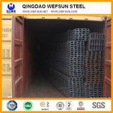 Ss400 Q235 warm gewalzter Aufbau-Stahl-U-Profilstäbe