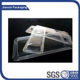 Компоновка электронных блоков PVC ясная с бумагой