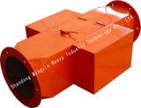 Separador magnético permanente de pipeline Rcyf Tamanho pequeno, peso leve, campo magnético forte