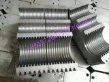 PP/PE/PVC escolhem a linha de produção corrugada parede maquinaria expulsando da tubulação produzindo a linha