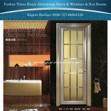 Алюминиевая нутряная дверь с много красивейших цветов