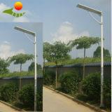 Fabricante solar integrado de la luz de calle/luces solares del poder más elevado