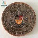 Изготовленный на заказ металл бронзы Antique логоса сувенира чествует монетку для военной полиции