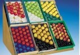 Bandejas plásticas descartáveis personalizadas do armazenamento do projeto da amostra livre para a embalagem da fruta fresca