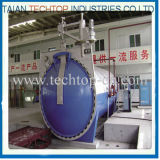 Full Automation China Autoclave Composite Manufacturing para fibra de carbono