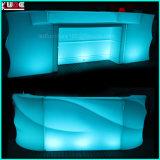 Sofá recargable de LED Sofá de LED Sofá al aire libre de LED