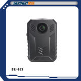 Câmera do IP do corpo da polícia do tamanho de Senken mini com configuração no GPS