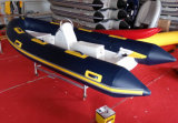 13.8FT 4.2m 칸토 Hypalon 또는 세륨 Cert를 가진 PVC 팽창식 Fiberglassboat 늑골 420A. 최신 판매에서