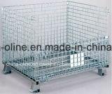 Gaiola do armazém do engranzamento de fio de aço (800*600*640)