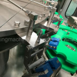 Máquina de relleno y que capsula embotelladoa automática conducida eléctrica