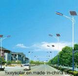 Luces de calle solares accionadas solares ahorros de energía de las luces 60W todas en una
