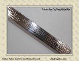Pipe de grand dos d'acier inoxydable de la vente en gros 304 pour la décoration