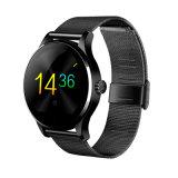 Reloj inteligente de moda Bluetooth con monitor de ritmo cardíaco (K88H)