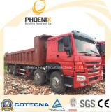 Verwendeter HOWO Kipper (8X4) 371HP mit der Kapazität 40tons für Afrika